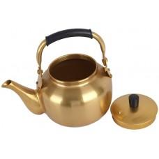 أباريق الشاي من نحاس ، اصفر - مقاس 1.6 لتر